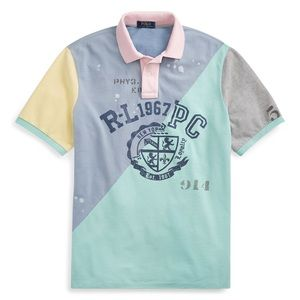 Polo Ralph Lauren Patchwork Classic Fit Polo Shirt